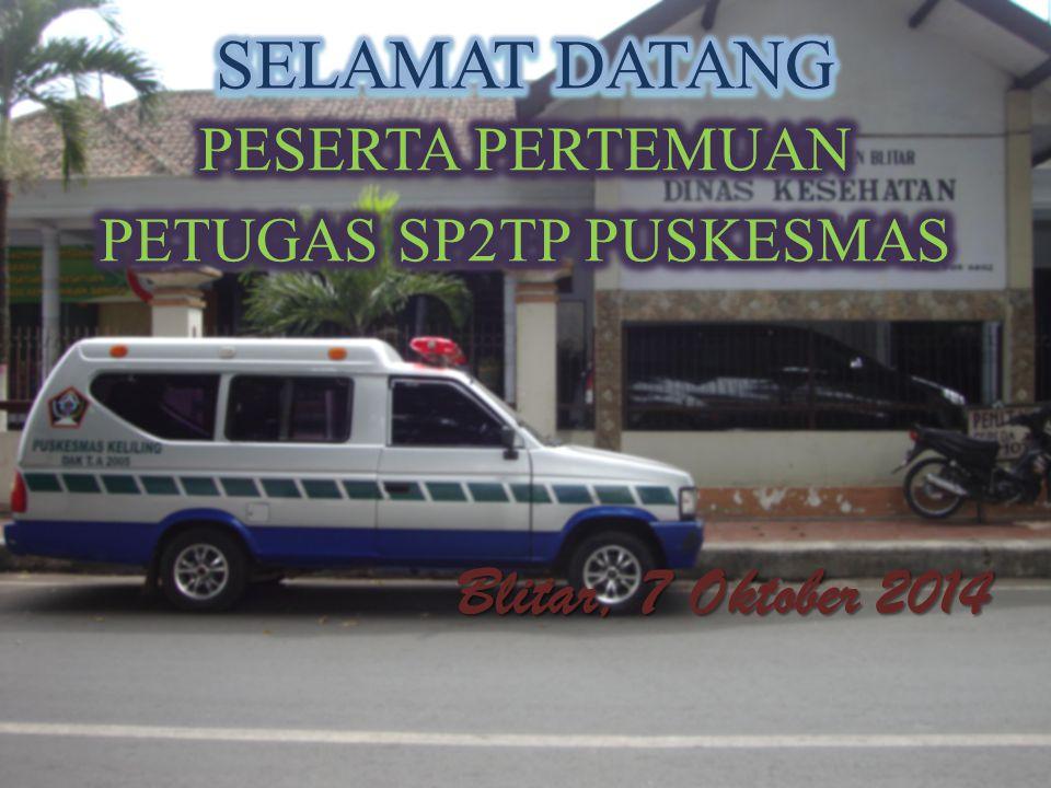 PETUGAS SP2TP PUSKESMAS