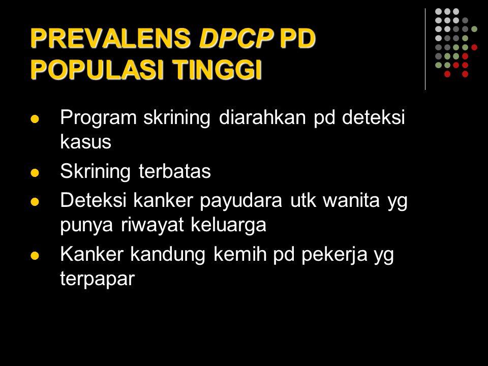PREVALENS DPCP PD POPULASI TINGGI