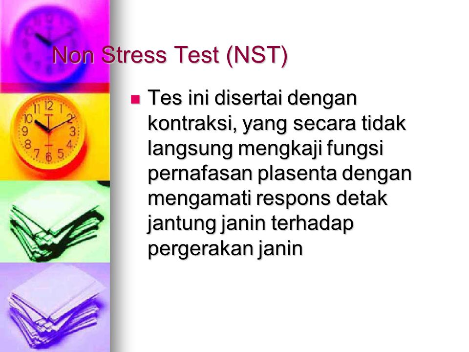 Non Stress Test (NST)