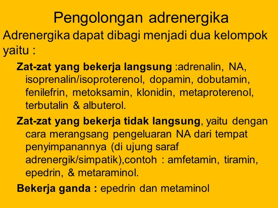 Pengolongan adrenergika