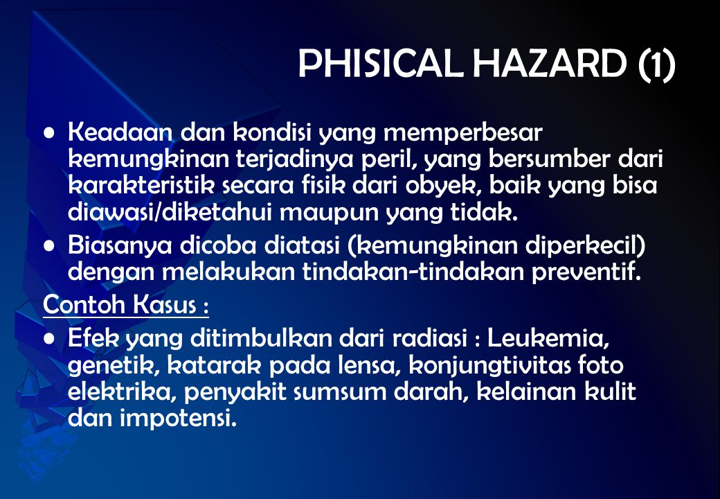 PHISICAL HAZARD (1)