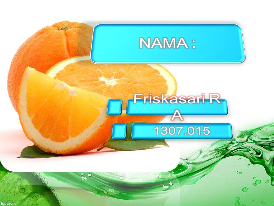 NAMA : Friskasari R A 1307.015