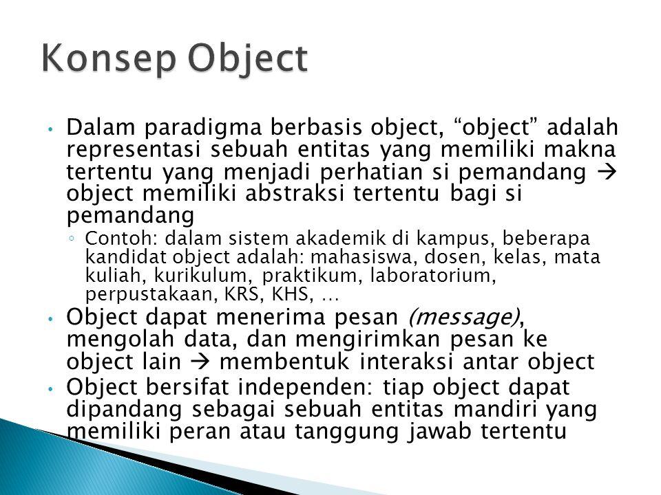 Konsep Object