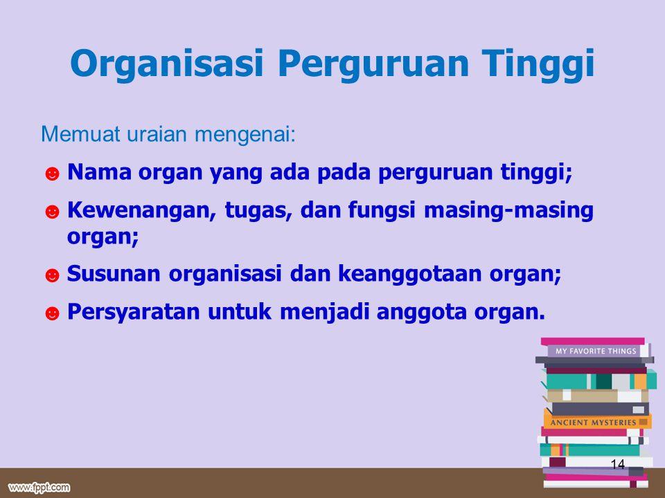 Organisasi Perguruan Tinggi