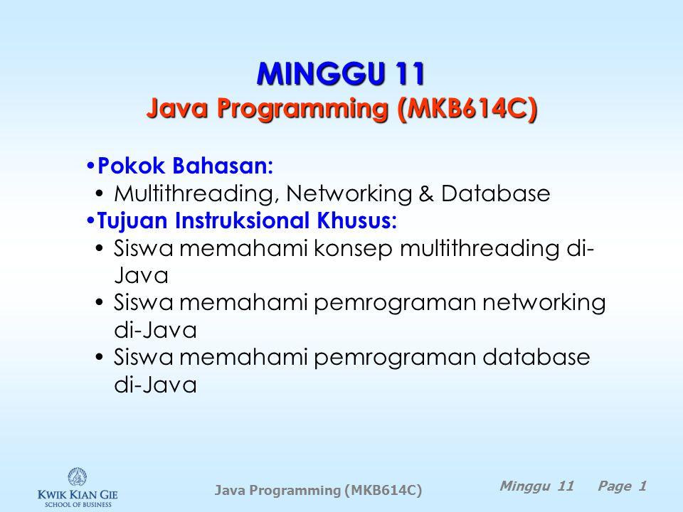 MINGGU 11 Java Programming (MKB614C)