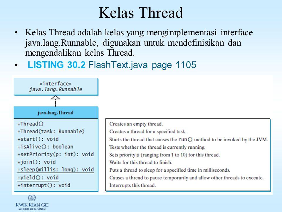 Kelas Thread