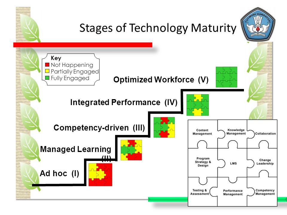 Stages of Technology Maturity