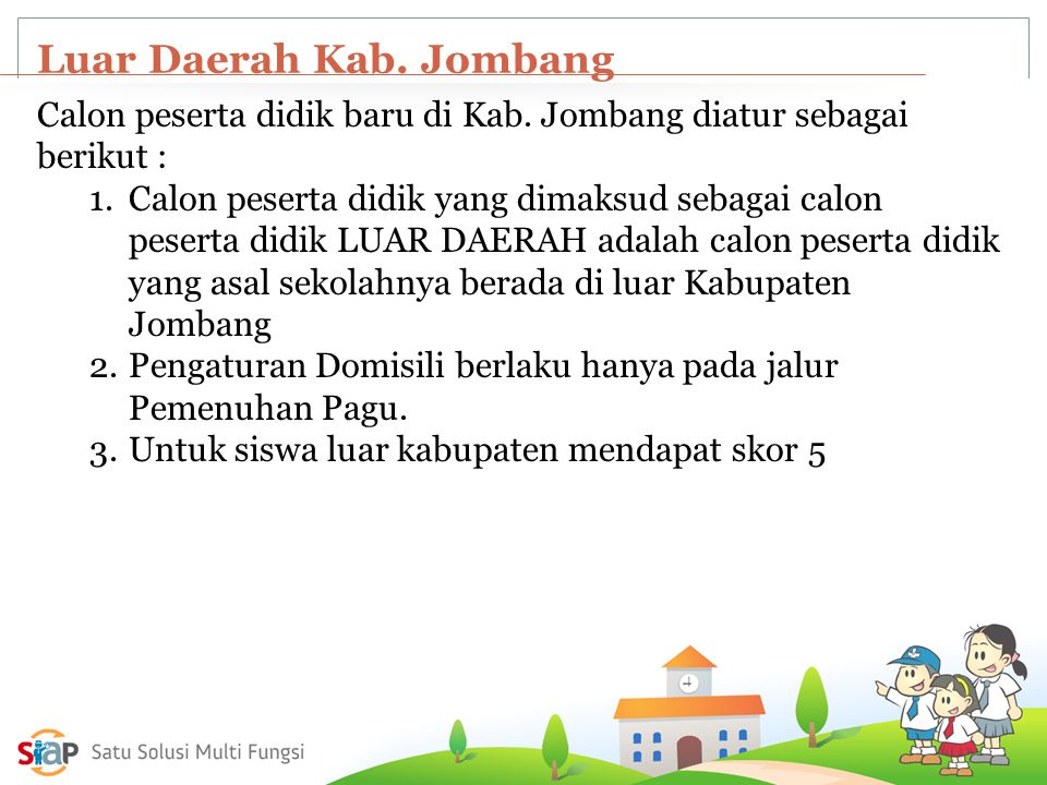 Luar Daerah Kab. Jombang