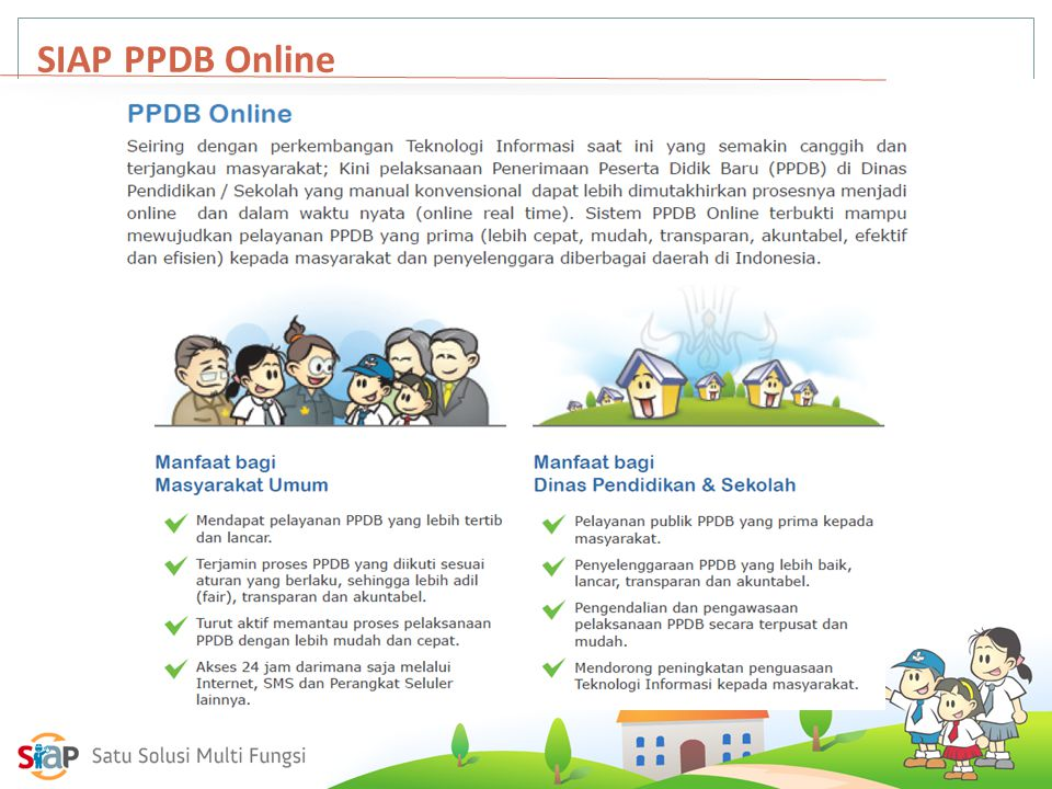 SIAP PPDB Online