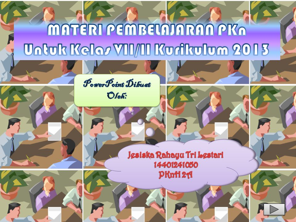 MATERI PEMBELAJARAN PKn Untuk Kelas VII/II Kurikulum 2013