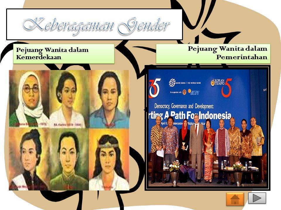 Keberagaman Gender Pejuang Wanita dalam Pemerintahan