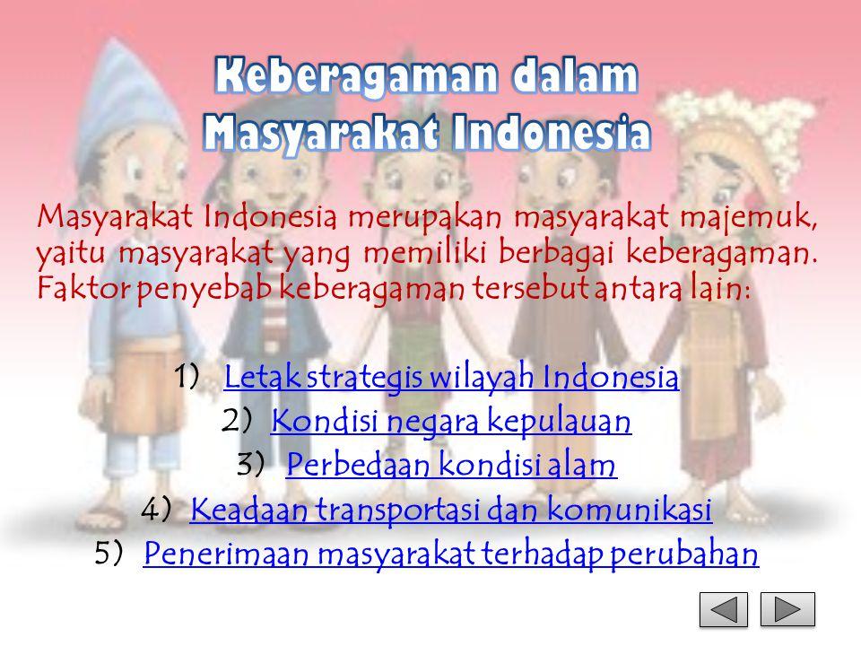 Keberagaman dalam Masyarakat Indonesia