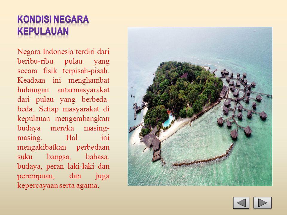 Kondisi Negara Kepulauan