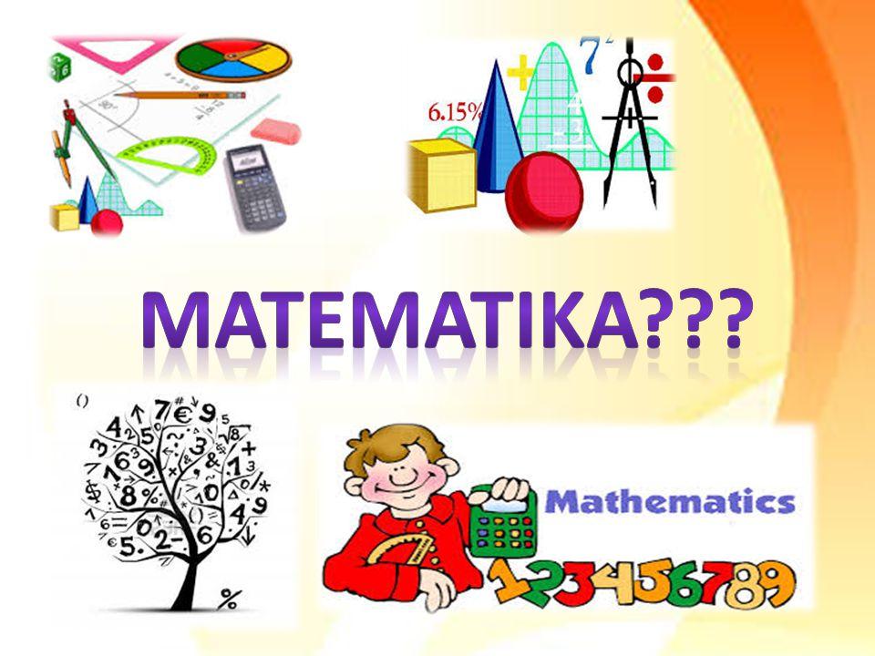 Matematika menanyakan ke mahasiswa apa yang teringat dari matematika