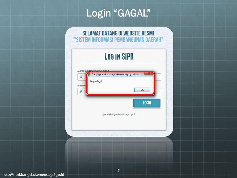 Login GAGAL http://sipd.bangda.kemendagri.go.id