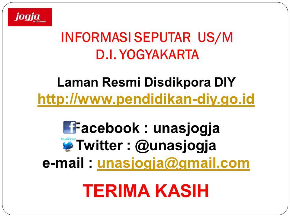 INFORMASI SEPUTAR US/M D.I. YOGYAKARTA