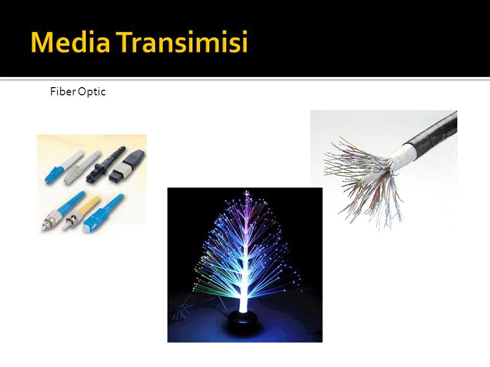 Media Transimisi Fiber Optic