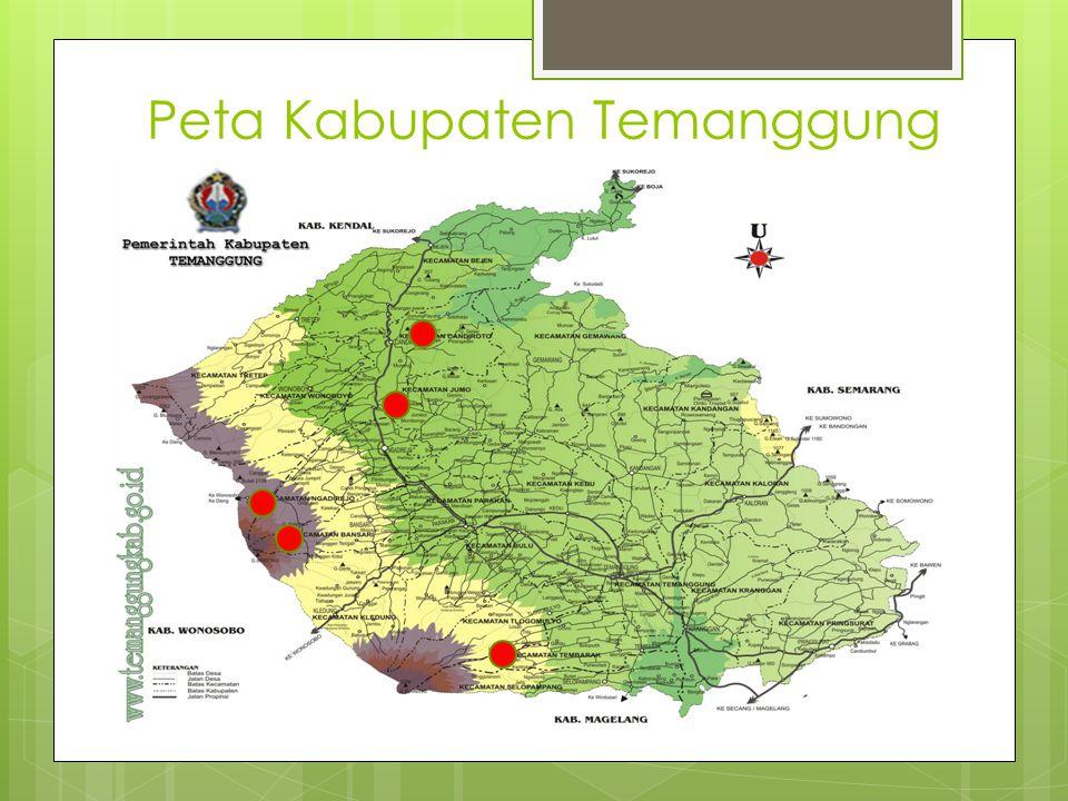 Peta Kabupaten Temanggung