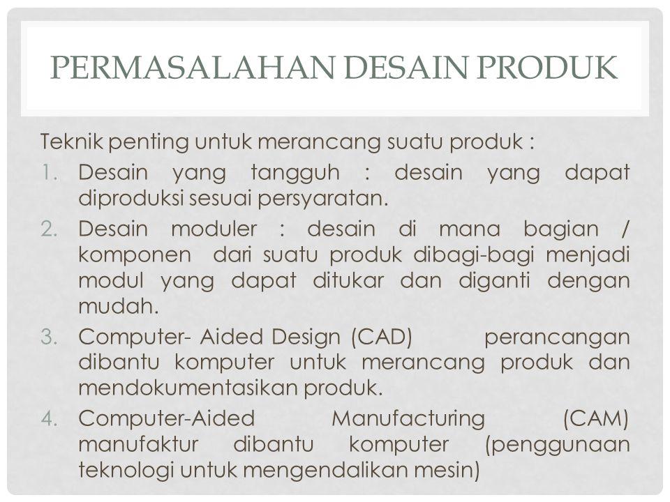 Permasalahan Desain Produk