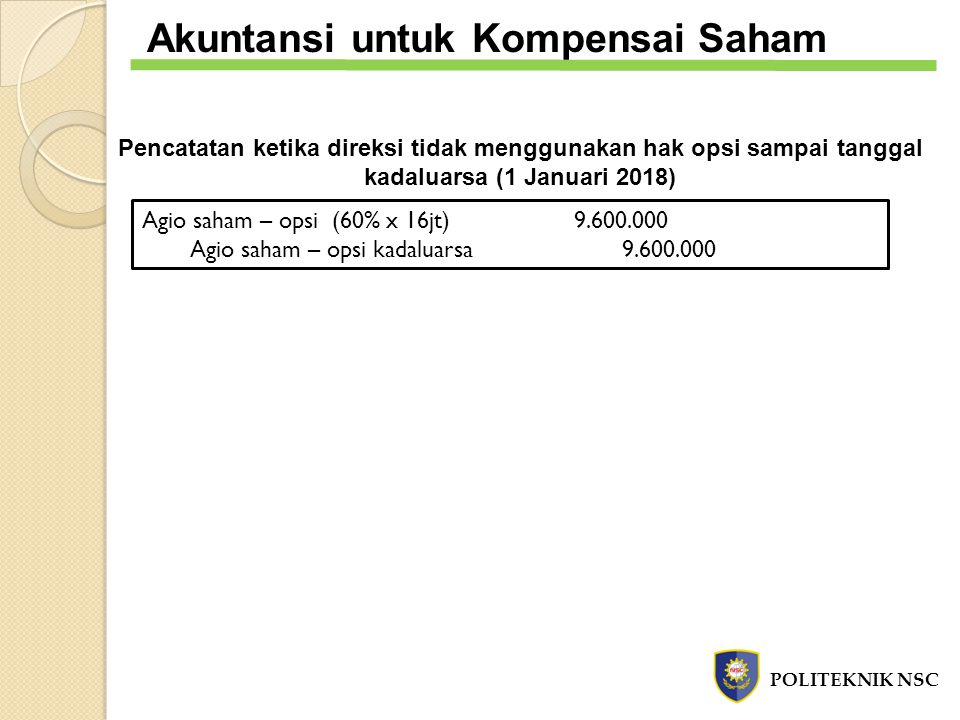 Akuntansi untuk Kompensai Saham