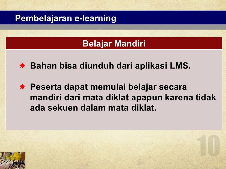 Pembelajaran e-learning