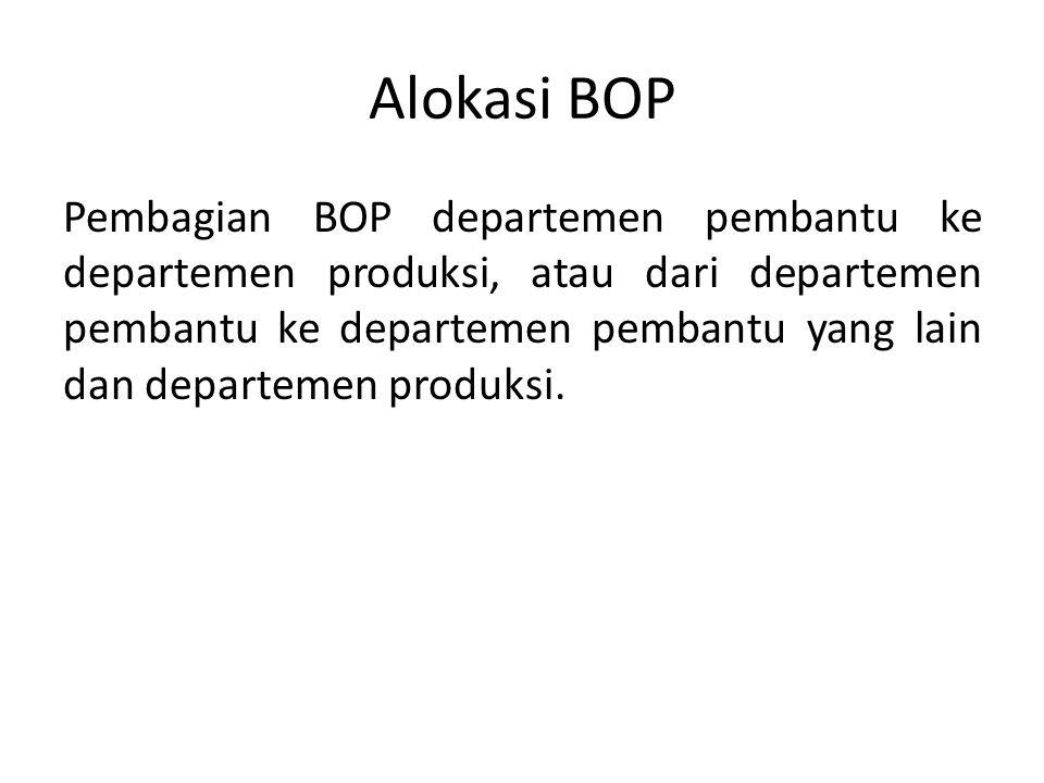 Alokasi BOP