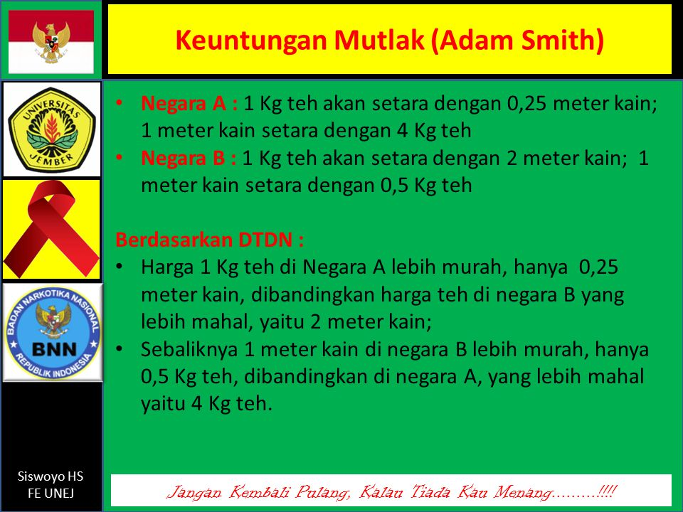 Keuntungan Mutlak (Adam Smith)