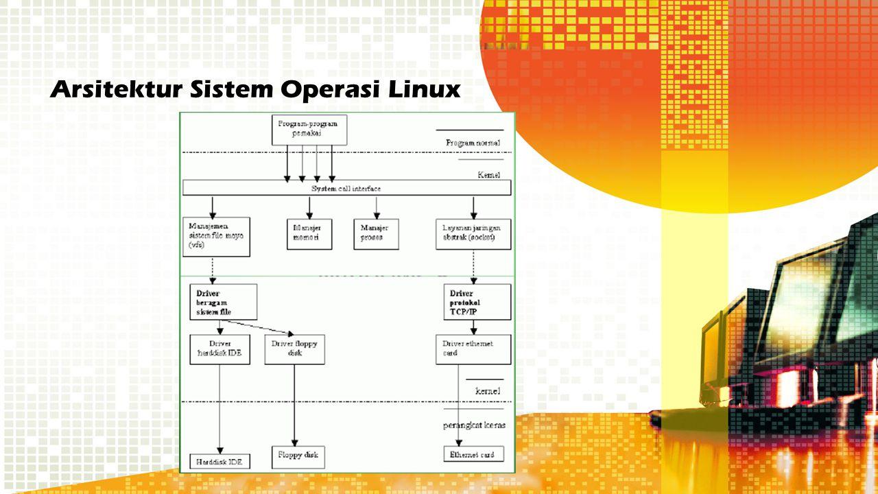Arsitektur Sistem Operasi Linux