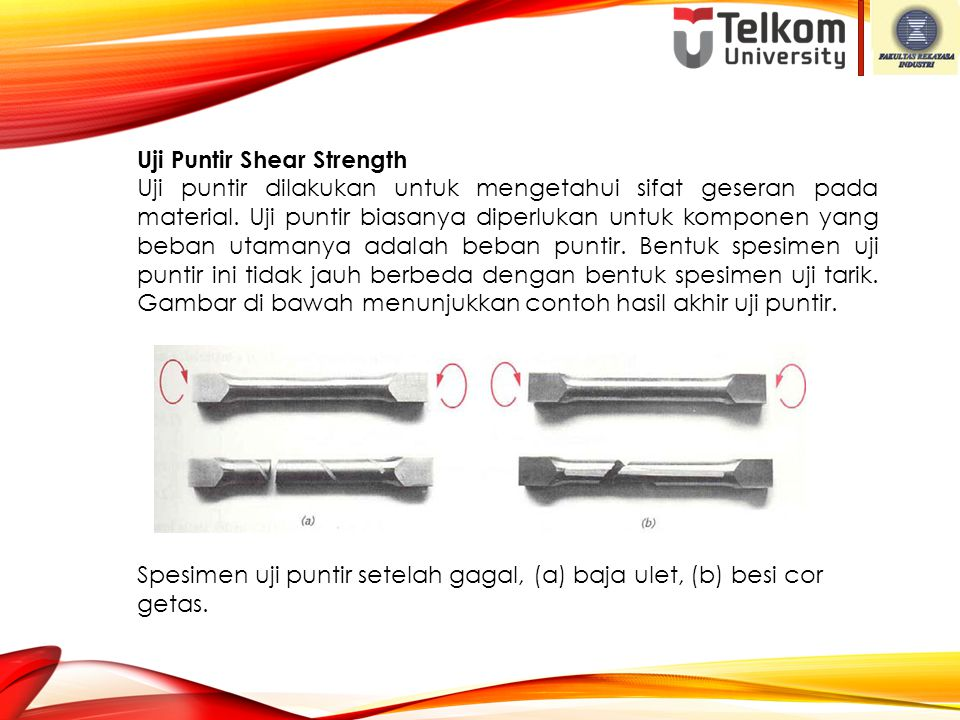 Uji Puntir Shear Strength