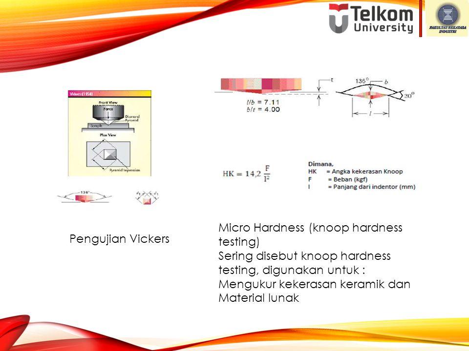 Micro Hardness (knoop hardness testing)