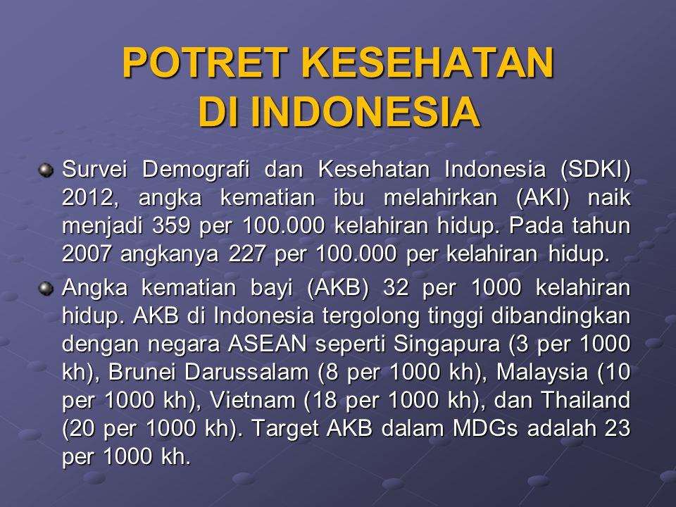 POTRET KESEHATAN DI INDONESIA