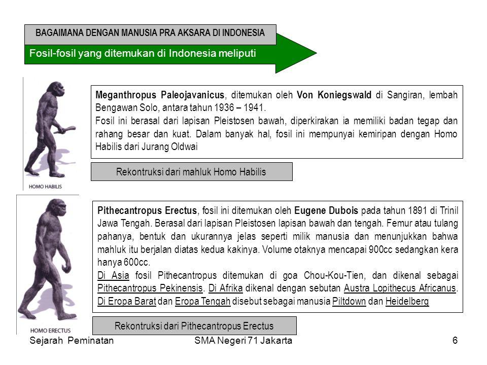 BAGAIMANA DENGAN MANUSIA PRA AKSARA DI INDONESIA