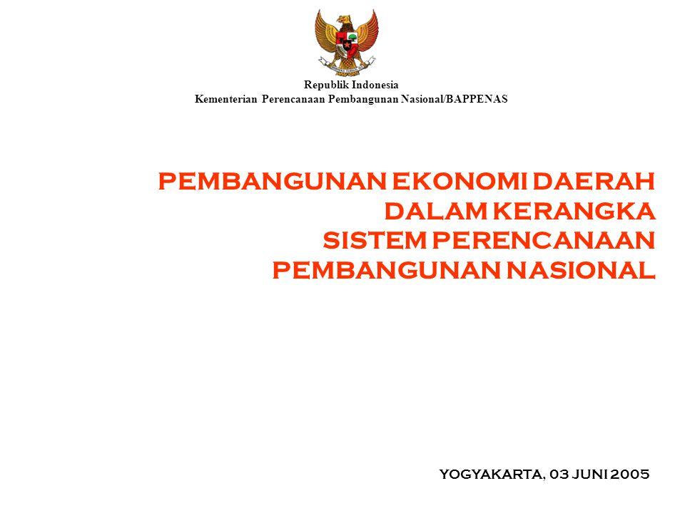 Kementerian Perencanaan Pembangunan Nasional/BAPPENAS