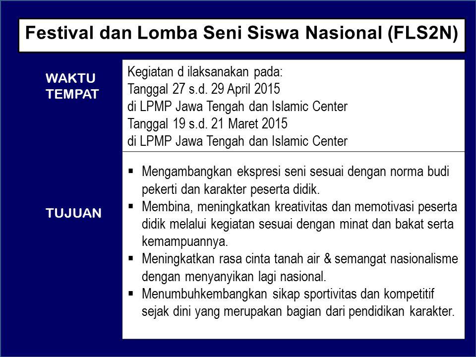 Festival dan Lomba Seni Siswa Nasional (FLS2N)