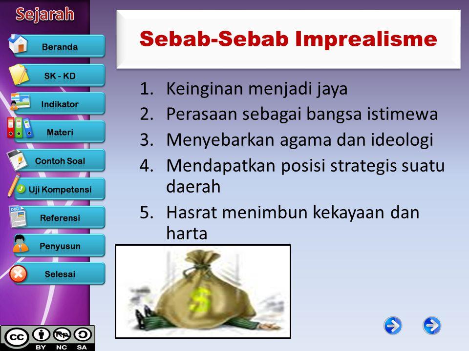 Sebab-Sebab Imprealisme