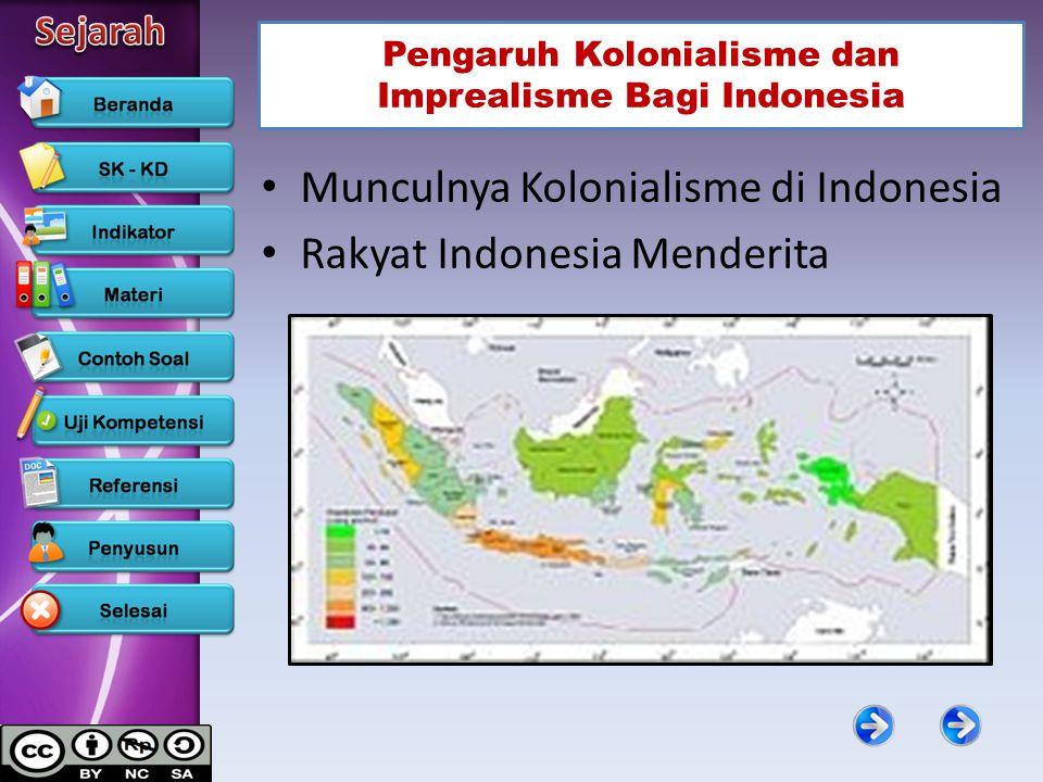 Pengaruh Kolonialisme dan Imprealisme Bagi Indonesia