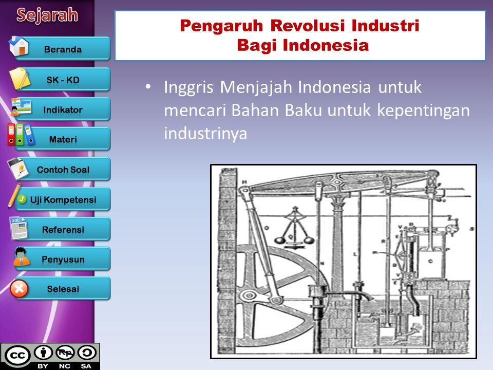 Pengaruh Revolusi Industri Bagi Indonesia