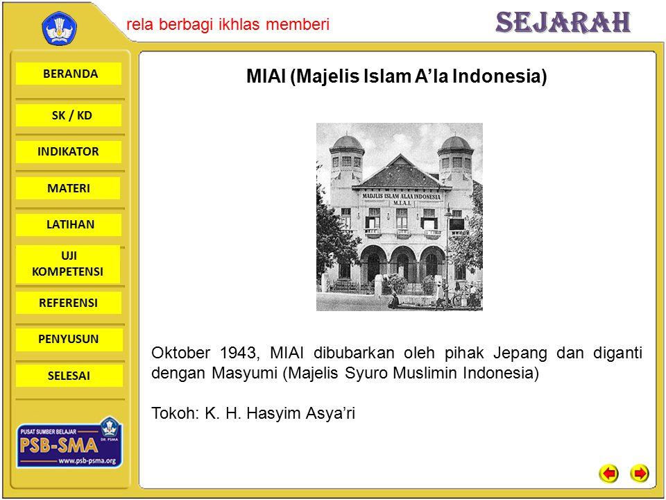 MIAI (Majelis Islam A'la Indonesia)