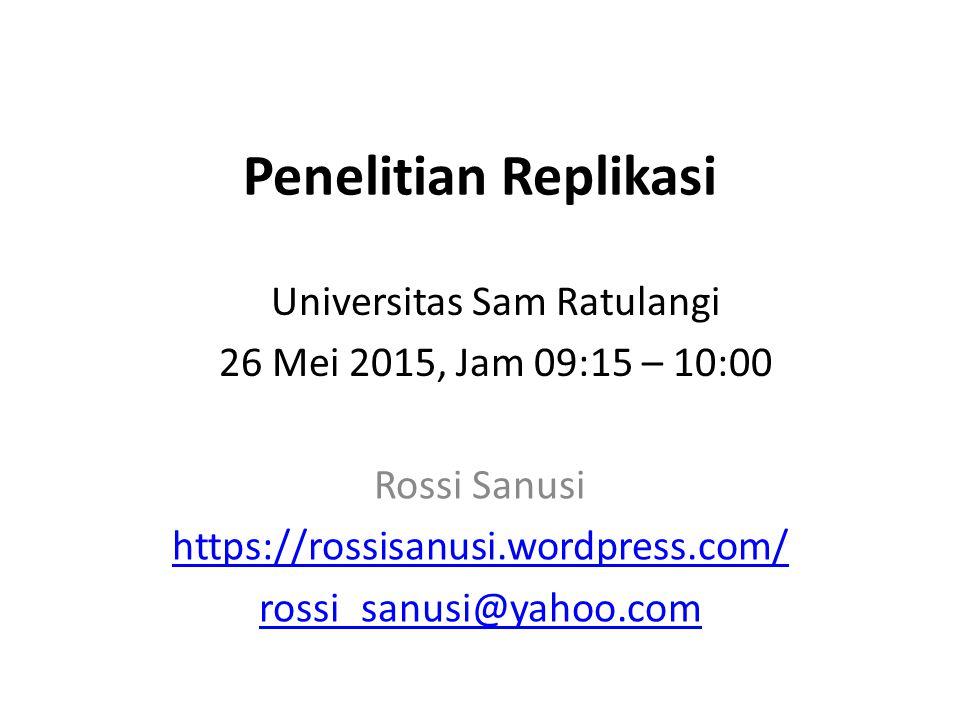Rossi Sanusi https://rossisanusi.wordpress.com/ rossi_sanusi@yahoo.com