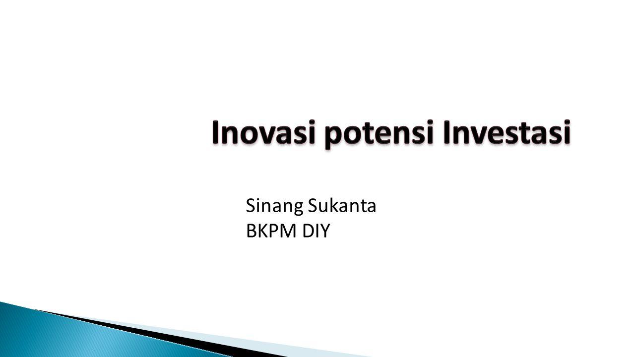 Inovasi potensi Investasi