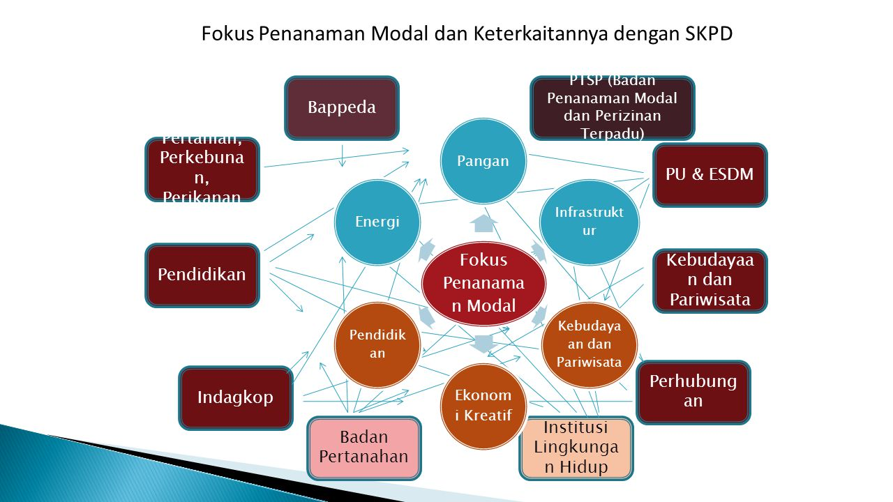 Fokus Penanaman Modal dan Keterkaitannya dengan SKPD