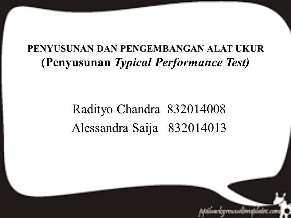 Radityo Chandra 832014008 Alessandra Saija 832014013