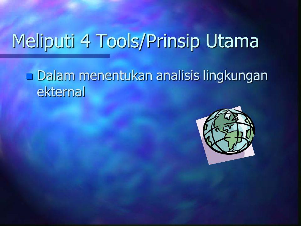 Meliputi 4 Tools/Prinsip Utama