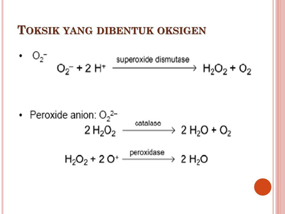 Toksik yang dibentuk oksigen