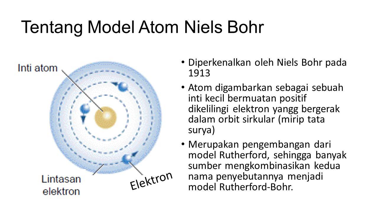 Tentang Model Atom Niels Bohr