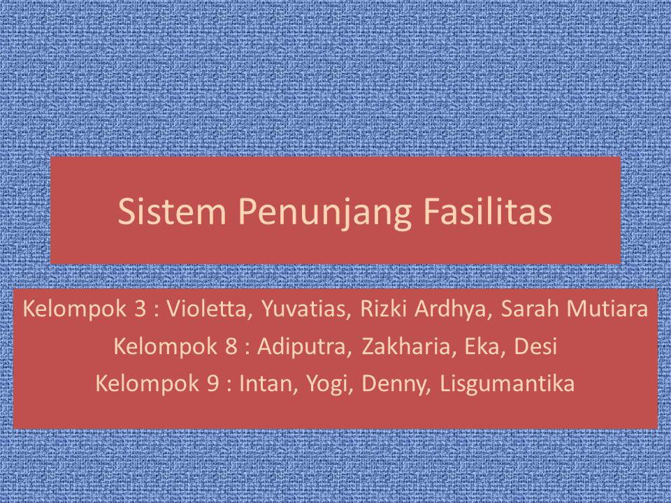 Sistem Penunjang Fasilitas