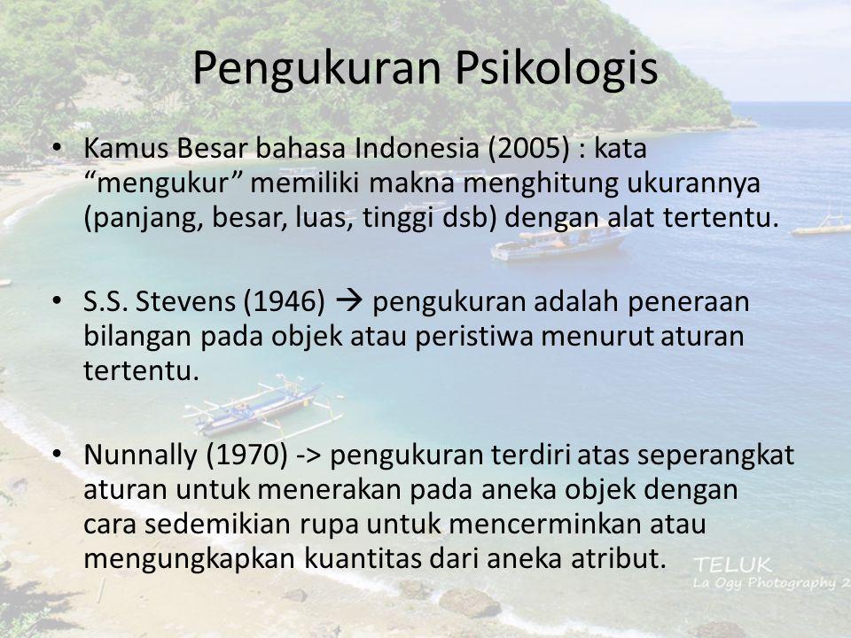 Pengukuran Psikologis