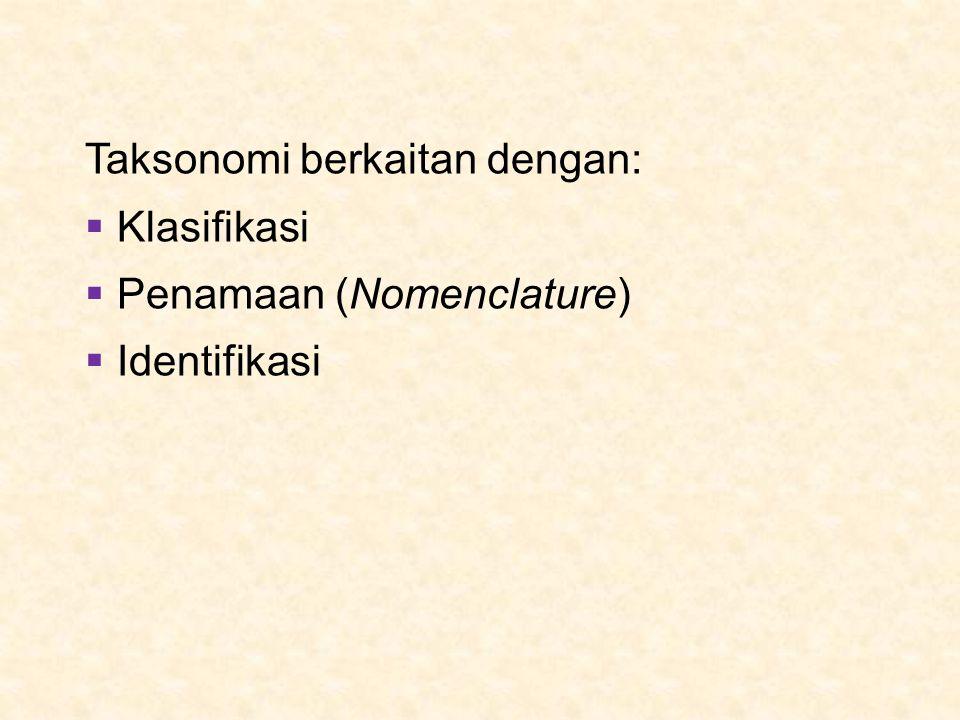 Taksonomi berkaitan dengan: