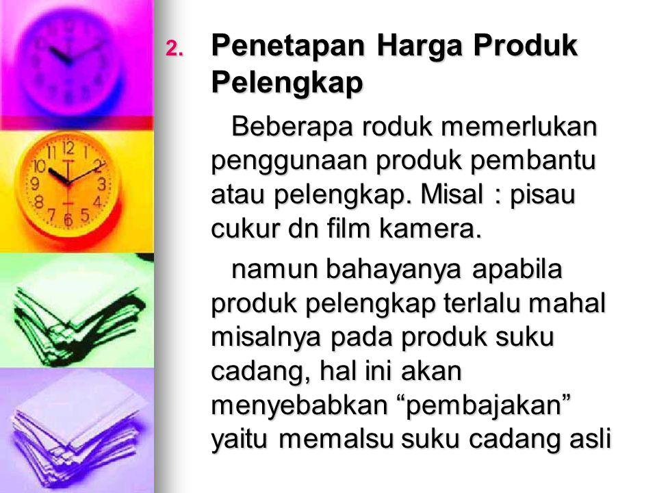 Penetapan Harga Produk Pelengkap