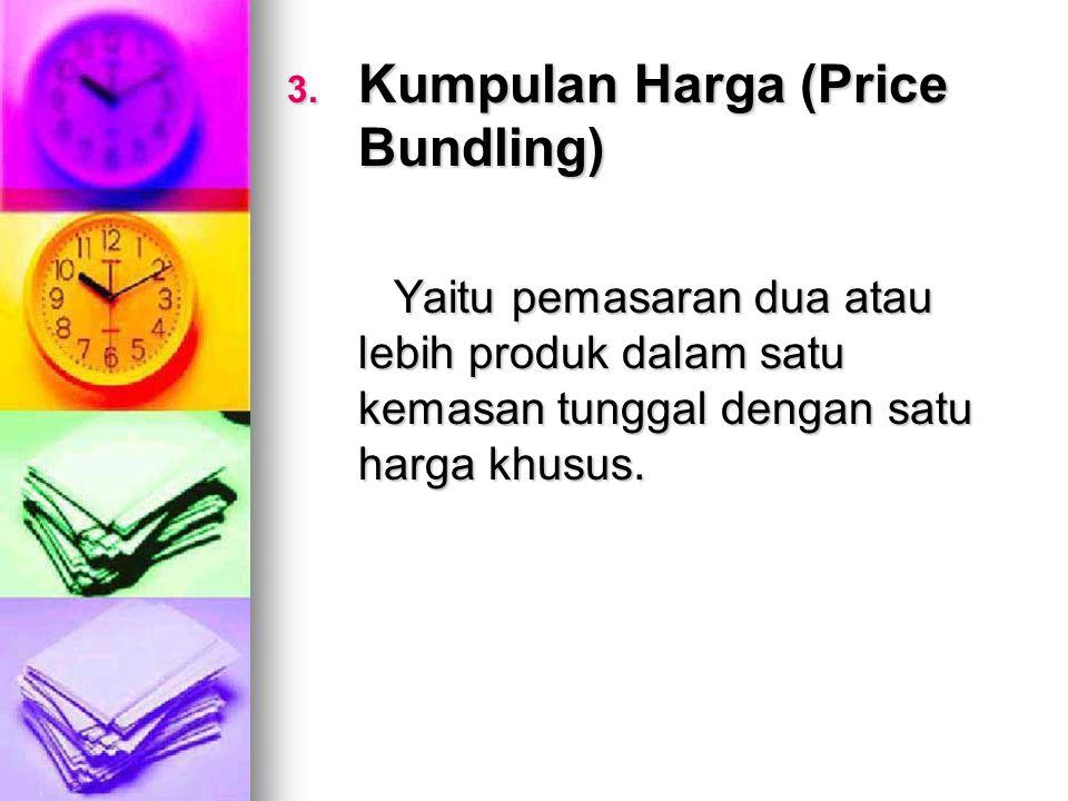 Kumpulan Harga (Price Bundling)